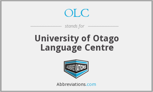 OLC - University of Otago Language Centre