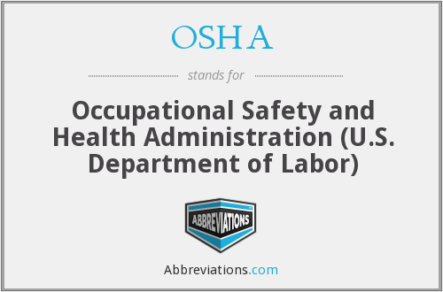 OSHA - Occupational Safety and Health Administration (U.S ...