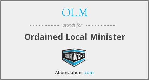 OLM - Ordained Local Minister