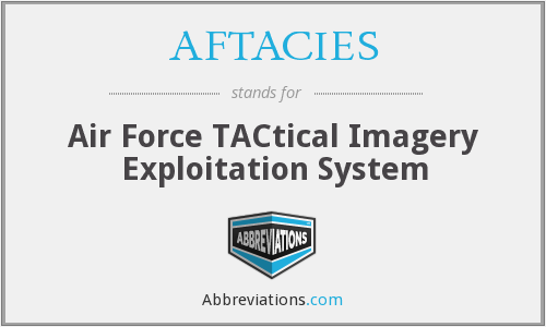 What does AFTACIES stand for?
