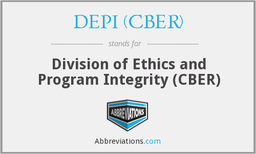 What does DEPI (CBER) stand for?