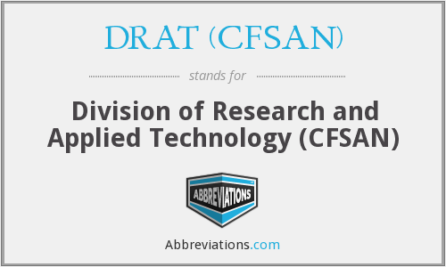 What does DRAT (CFSAN) stand for?
