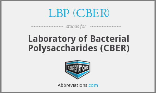 What does LBP (CBER) stand for?