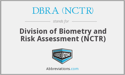 What does DBRA (NCTR) stand for?