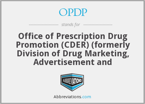 What does OPDP stand for?