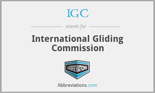 IGC - International Gliding Commission