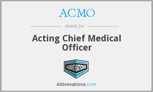 What does ACMO stand for?