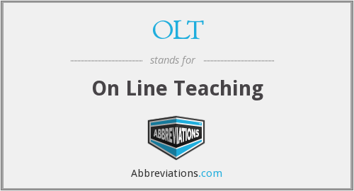 OLT - On Line Teaching