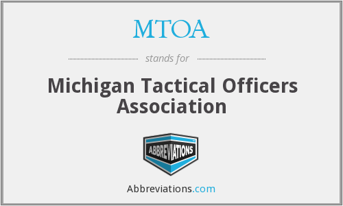 What does MTOA stand for?