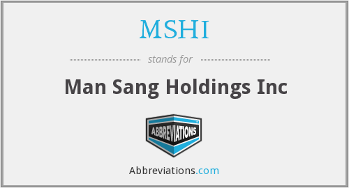 What does MSHI stand for?