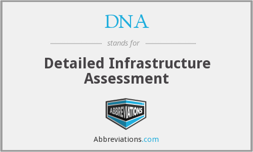 DNA - Detailed Infrastructure Assessment