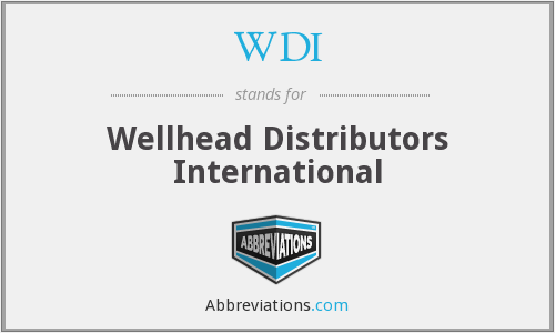 WDI - Wellhead Distributors International