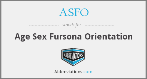 What does ASFO stand for?