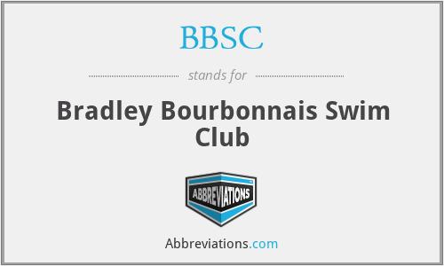 BBSC - Bradley Bourbonnais Swim Club
