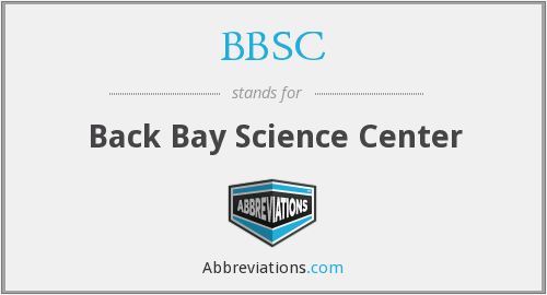 BBSC - Back Bay Science Center