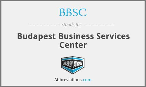 BBSC - Budapest Business Services Center