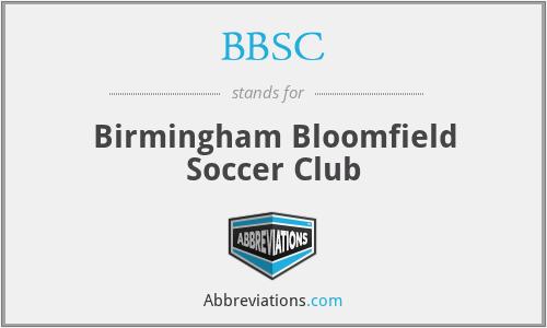 BBSC - Birmingham Bloomfield Soccer Club