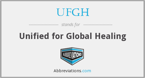What does UFGH stand for?