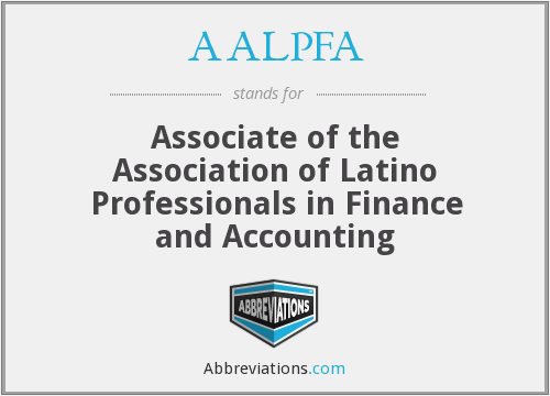 What does AALPFA stand for?