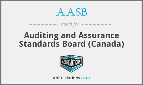 AASB - Auditing and Assurance Standards Board (Canada)