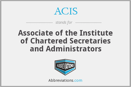 What does ACIS stand for?