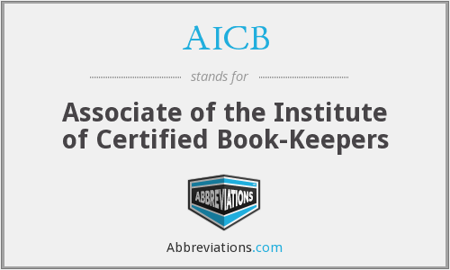 AICB - Associate of the Institute of Certified Book-Keepers