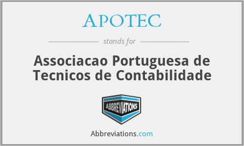 APOTEC - Associacao Portuguesa de Tecnicos de Contabilidade