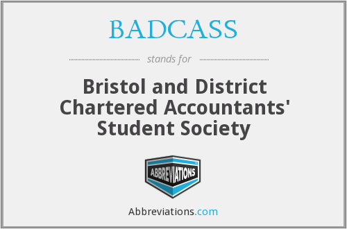 BADCASS - Bristol and District Chartered Accountants' Student Society