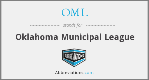 OML - Oklahoma Municipal League