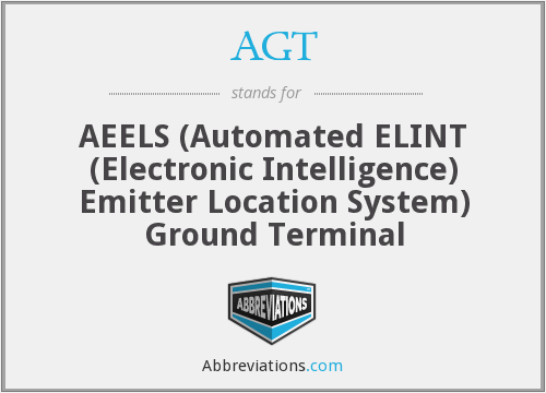 AGT - AEELS Ground Terminal