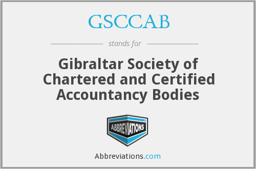 GSCCAB - Gibraltar Society of Chartered and Certified Accountancy Bodies