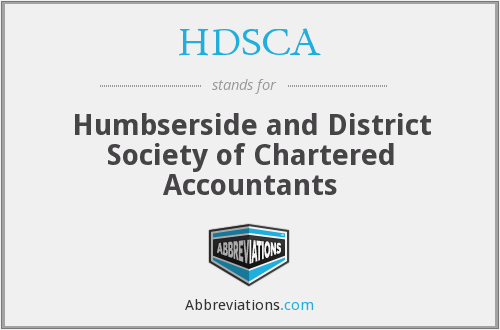 HDSCA - Humbserside and District Society of Chartered Accountants