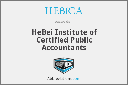 What does HEBICA stand for?
