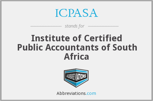 What does ICPASA stand for?