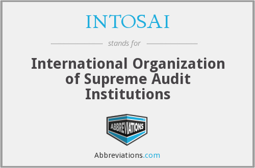 What does INTOSAI stand for?