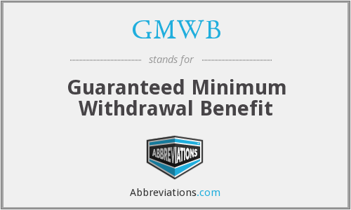 What does GMWB stand for?