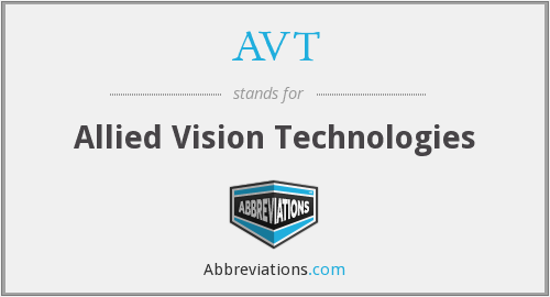 AVT - Allied Vision Technologies