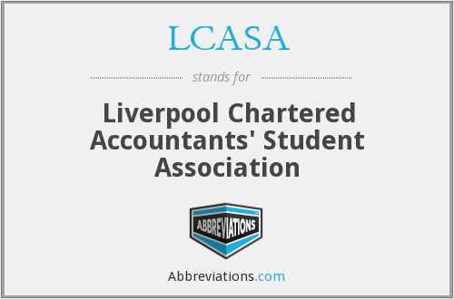 What does LCASA stand for?