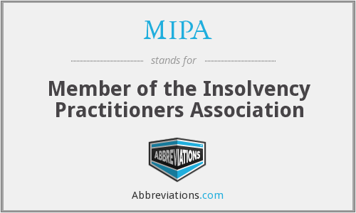 What does MIPA stand for?
