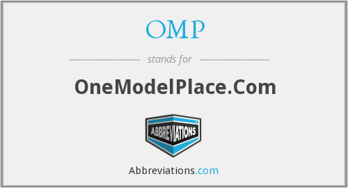 OMP - OneModelPlace.Com