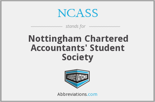 NCASS - Nottingham Chartered Accountants' Student Society