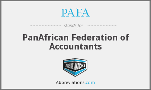 What does PAFA stand for?