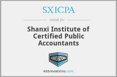 What does SXICPA stand for?
