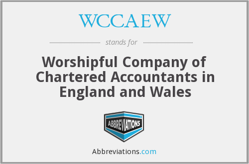 What does WCCAEW stand for?