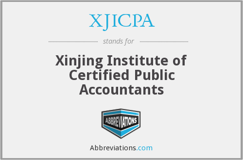 What does XJICPA stand for?