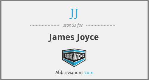 JJ - James Joyce