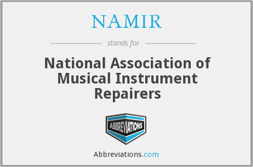 What does NAMIR stand for?