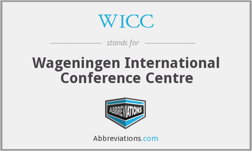 WICC - Wageningen International Conference Centre
