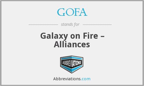 What does GOFA stand for?
