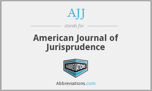 What does AJJ stand for?